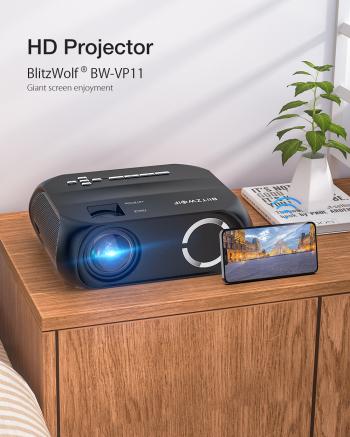 Videoproiector led 6000 Lumeni BW-VP11 VideoProiectoare
