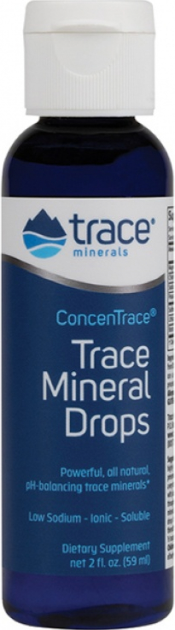 ConcenTrace - Picaturi Concentrate in Oligominerale Marine 59ml 47 portii Vitamine si Suplimente nutritive