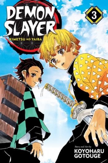 Demon Slayer Kimetsu No Yaiba Vol 3 Carti