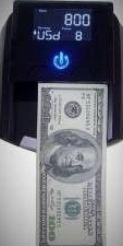 Detector bancnote automat NB800 - RON/EUR/USD/GBP/CHF/HUF/BGN/TRY Masini de numarat bani