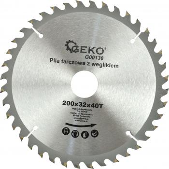Disc pentru lemn 200x32x40T Geko G00136