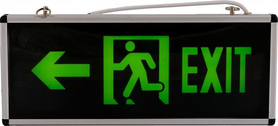 Lampa exit iesire la stanga cu led si acumulator autonomie 90 minute Corpuri de iluminat