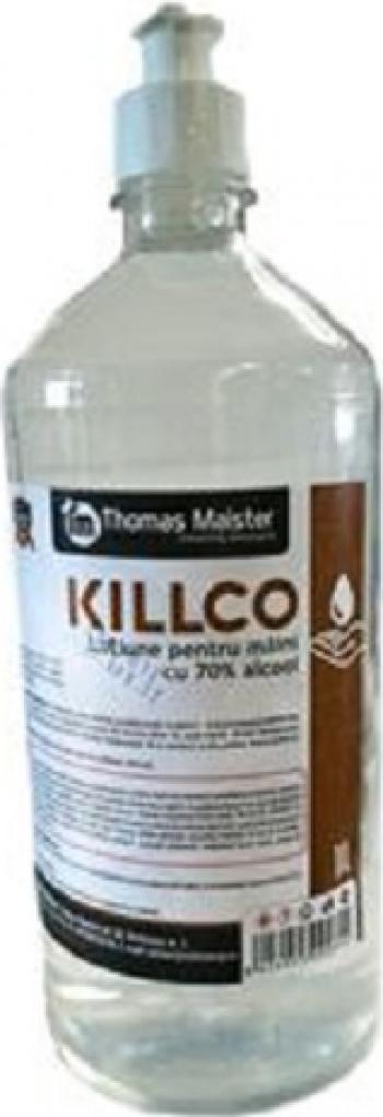 Lotiune pentru maini cu alcool Killco 1 l Gel antibacterian