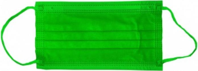 Masca medicala 4 straturi full color Verde Dr.Mayer Masti chirurgicale si reutilizabile