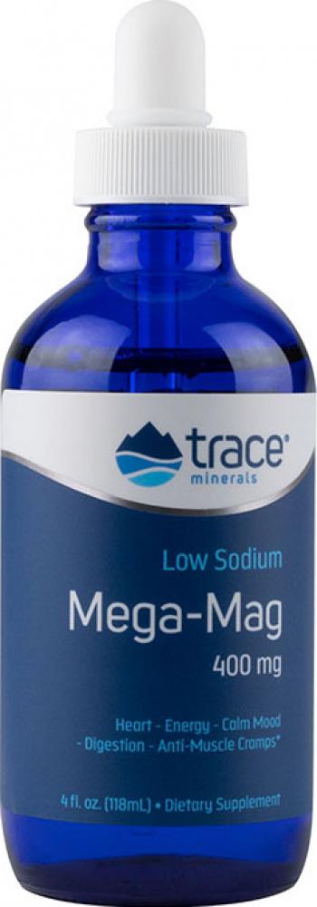 Mega-Mag Magneziu lichid ionic 400 mg 118 ml 29 portii Vitamine si Suplimente nutritive