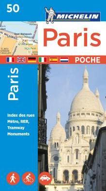 Michelin Paris Pocket Map 50 Plan Poche Carti