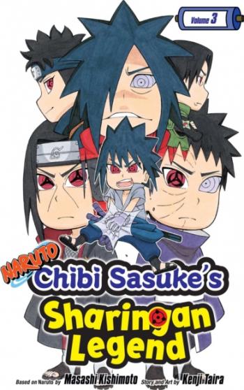 Naruto Chibi Sasuke s Sharingan Legend Vol 3 Carti