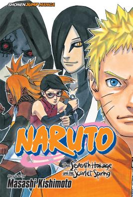 Naruto The Seventh Hokage and the Scarlet Spring Carti