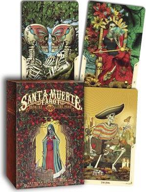 Santa Muerte Tarot Deck Book of the Dead Carti