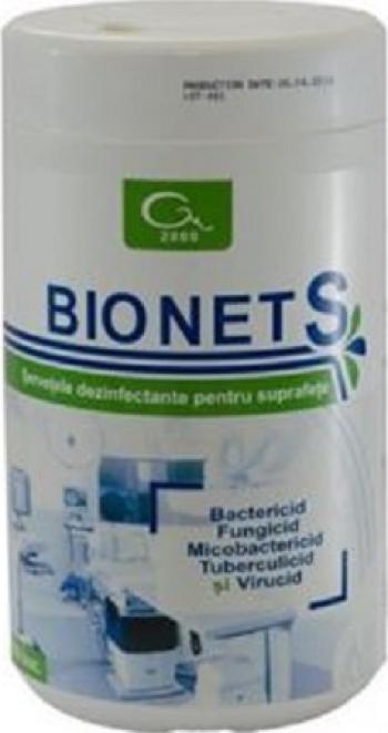 Servetele dezinfectante Bionet S 150 buc Gel antibacterian