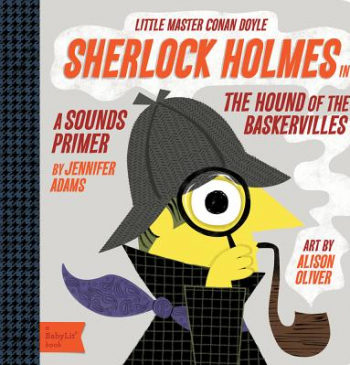 Sherlock Holmes in the Hound of Baskervilles Little Master Conan Doyle Carti