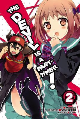 The Devil Is a Part Timer Vol 2 Manga Carti