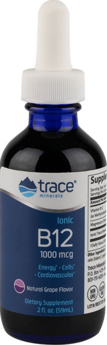Vitamina B12 1000 mcg lichid ionic 59 portii Vitamine si Suplimente nutritive