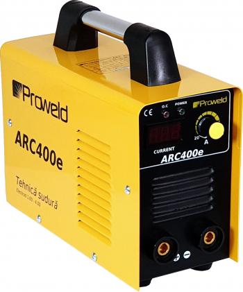 Invertor sudura ProWELD ARC400e 180A electrod 1.6–4.0mm