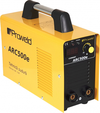 Invertor sudura ProWELD ARC500e 250A electrod 1.6 – 5.0 A
