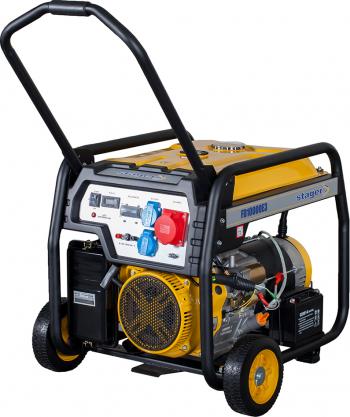 Stager FD 10000E3 generator open-frame 8kW trifazat benzina pornire electrica 5160310000 Utilaje de constructii