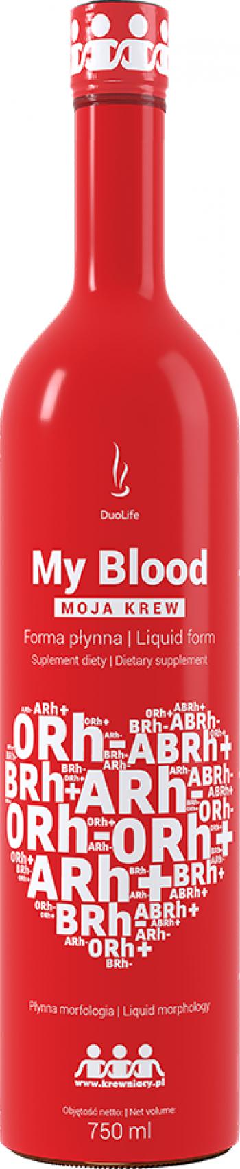 Supliment alimentar DuoLife My Blood 750ml