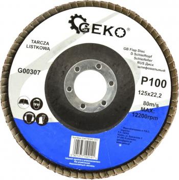 Disc lamelar pentru slefuire 125mm P100 Geko G00307