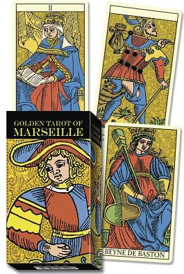 Golden Marseille Tarot Carti