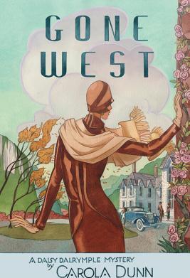 Gone West A Daisy Dalrymple Mystery Carti
