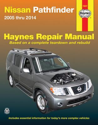 Nissan Pathfinder 2005 Thru 2014