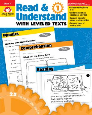 Read Understand with Leveled Texts Grade 1 Carti