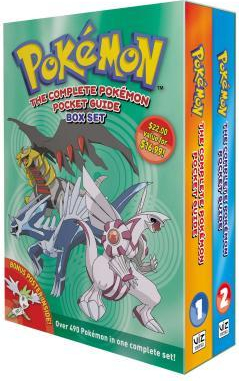The Complete Pokemon Pocket Guides Box Set 2nd Edition