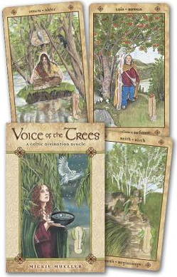 Voice of the Trees A Celtic Divination Oracle With Paperback Book Carti