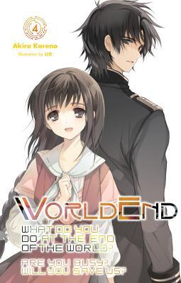 Worldend What Do You Do at the End of the World Are You Busy Will You Save Us Vol 4 Carti