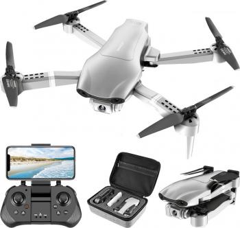 Drona SLX F3 4K 5G GPS brate pliabile wifi buton de Return To Home camera 4K HD cu transmisie live pe telefon capacitate baterie 7.4V