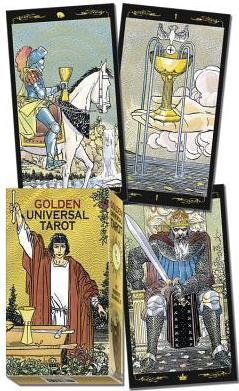 Golden Universal Tarot Deck Carti