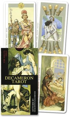 Ls Decameron Tarot Deck Boxed Card Set with Booklet With Instruction Booklet Carti