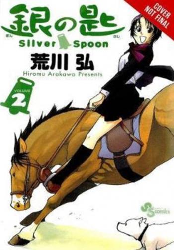 Silver Spoon Vol 2 Carti