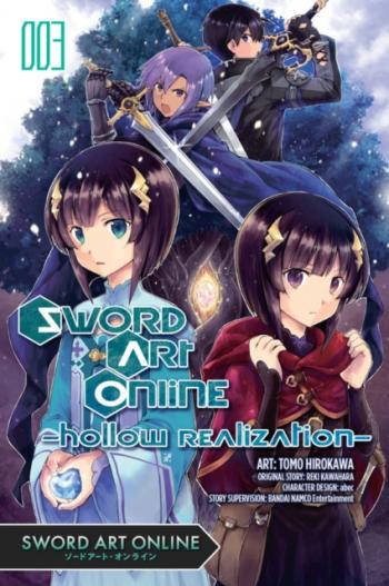 Sword Art Online Hollow Realization Vol 3 Carti