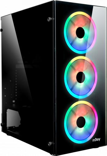 Unitate PC Gaming/Power Office Intel I7-10700KF 3.80 Ghz 16GB RAM 960GB SSD Nvidia RTX 2060 6GB 192 Biti - RGB Calculatoare Desktop