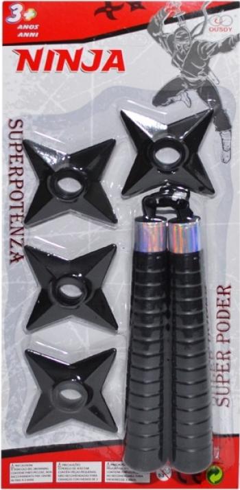 Arme Ninja - 5 Buc/ Blister Jucarii