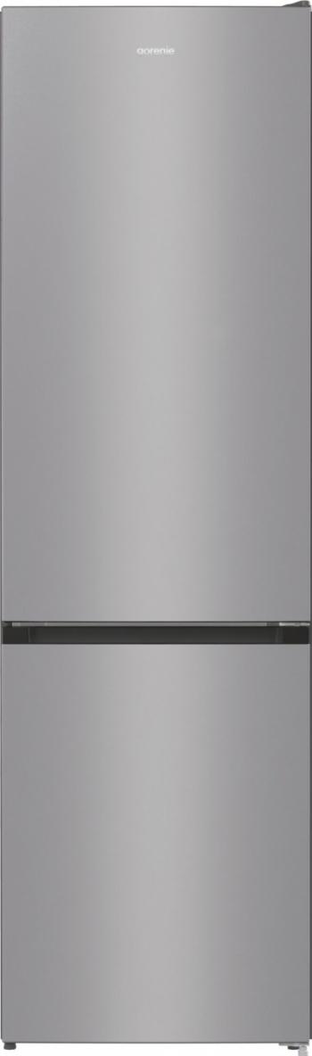 Combina frigorifica Gorenje NRK6201ES4 A+ 331 l No Frost Plus IonAir cu Multiflow 360 and deg AdaptCool Argintiu Frigidere Combine Frigorifice