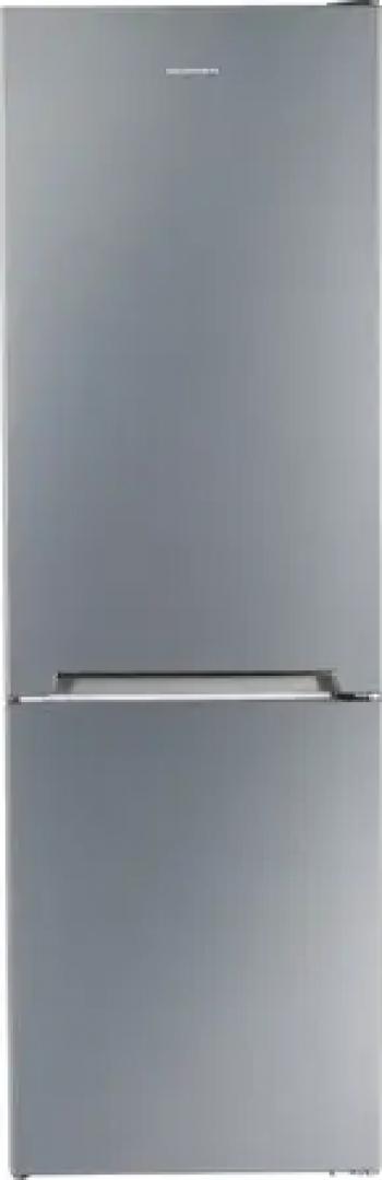 Combina frigorifica Heinner HC-V336XE++ 336 l Tehnologie less frost Clasa E Argintiu