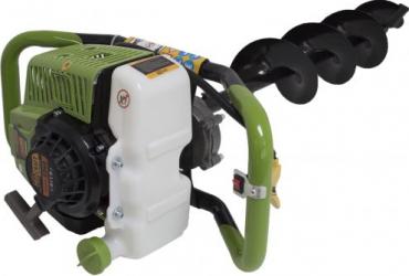 Motoburghiu pamant 8000 rpm + Burghiu 150x800 mm Procraft GD52 2.0 CP Scule de gradina