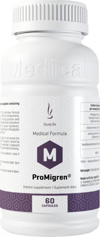 Supliment alimentar DuoLife Medical Formula ProMigren 60 capsule