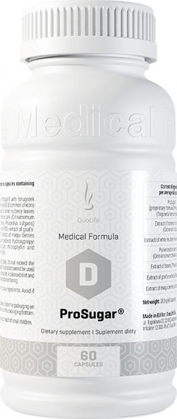 Supliment alimentar DuoLife Medical Formula ProSugar 60 capsule