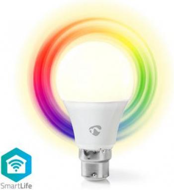 Bec LED Smart WiFi RGB - lumina alba calda B22 Nedis Corpuri de iluminat