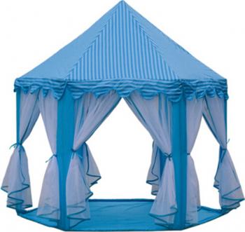 Cort Castel de joaca pentru copii 135 cm albastru