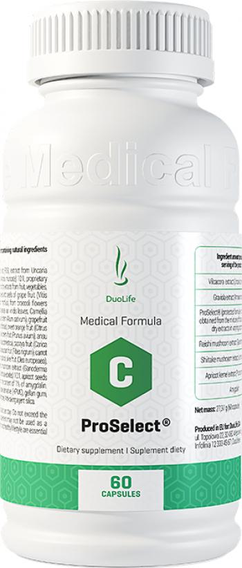 DuoLife Medical Formula ProSelect 100 Natural 60 capsule pentru ficat