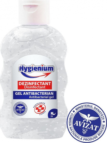 Gel dezinfectant maini Hygienium 50 ml Gel antibacterian
