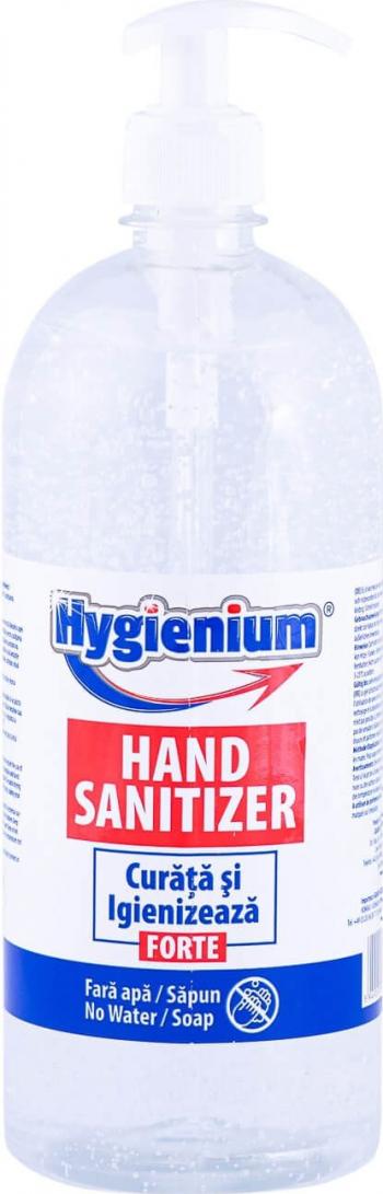 Gel igienizant maini Hygienium 1000 ml Gel antibacterian