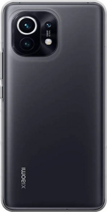 Husa compatibila cu Xiaomi Mi 11 G-Tech Liquid Ultra Slim Silicon high tech Transparent