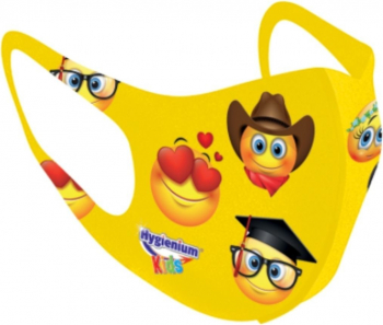 Masca pentru copii reutilizabila Emoji Masti chirurgicale si reutilizabile