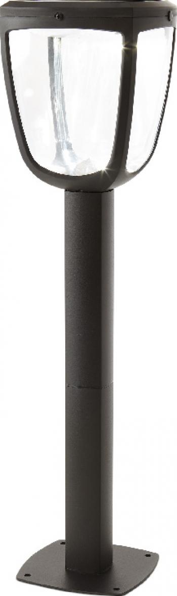 Stalp de iluminat cu incarcare solara Led integrat si senzor de miscare inaltime 65cm