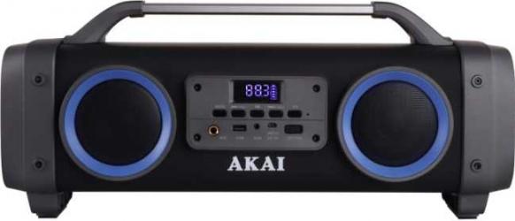 Boxa Portabila AKAI ABTS-SH02 Super Blaster Bluetooth Radio FM